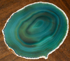 'green drink coasters' from the web at 'http://coasters.pebblez.com/beverage-coasters/../pictures/gemstone-coasters/gemstone/240/green-3.jpg'
