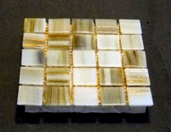 'honey comb drink coasters' from the web at 'http://coasters.pebblez.com/coasters/glass-mosaic/../../pictures/glass-mosaic-coasters/240/honey-comb-coasters-1.jpg'