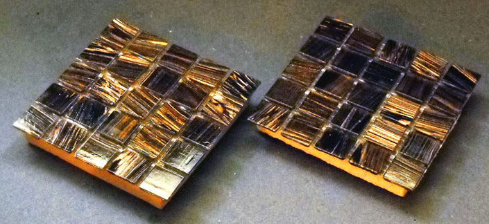 ' ' from the web at 'http://coasters.pebblez.com/coasters/glass-mosaic/../../pictures/glass-mosaic-coasters/amber-waves-coasters-4.jpg'