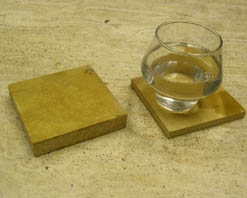honey stone coasters