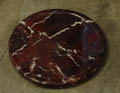 red earth stone coasters