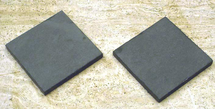 Forest Gray Stone Drink Coasters