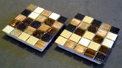 mosaic drink coasters