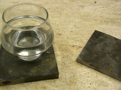 stone drink coasters