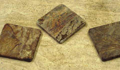 oak wood coasters